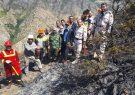 ورود مدیران و کاروان امداد رسانی مجتمع مس سونگون به خط مقدم مهار آتش