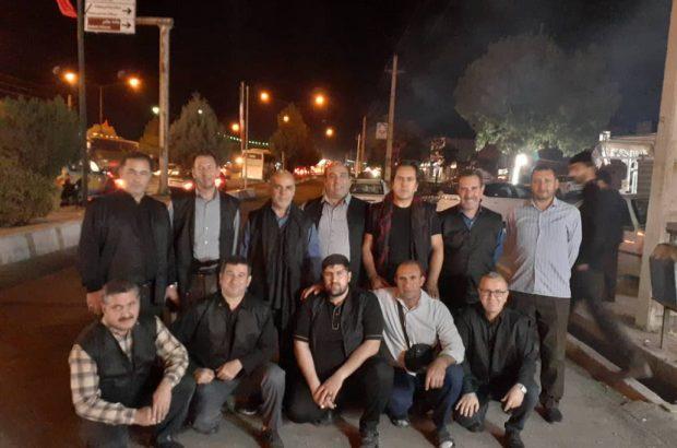 گزارش تصویری از خادمین شرکت ملی صنایع مس ایران در راه کربلا