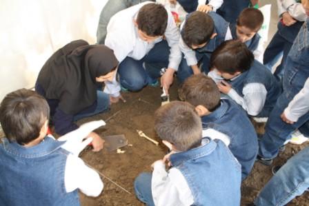 همزمان با هفته میراث فرهنگی آذربایجان شرقی/برگزاری کارگاه باستان شناسی همراه با کودکان