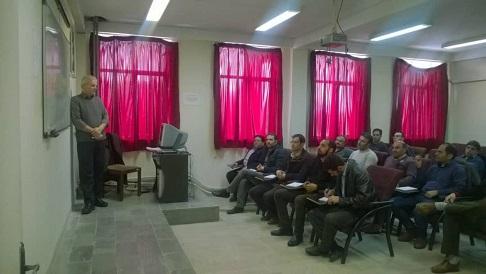 برگزاری دوره آموزشی فن ورز شبکه هوایی در برق تبریز