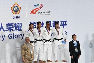 حضور تیم جودوی نیروهای مسلح ایران در المپیک نظامیان جهان