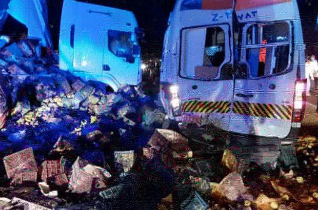 حادثه منجر به فوت تکنسین اورژانس ١١۵ شهرستان چاروایماق حین خدمت
