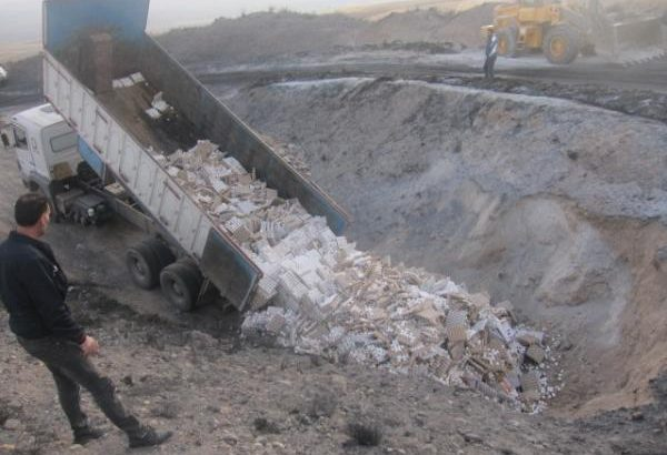 معدومسازی ۲۰ تن تخم مرغ غیربهداشتی در شهرستان بستان آباد