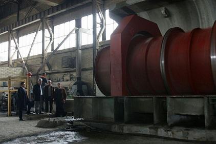 تولید موفقیت آمیز سنگین ترین قطعه سانتریفیوژ در تبریز