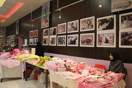 برگزاری نمایشگاه توانمندی های بانوان فرهنگ سرای بزرگ الغدیر در محل فرهنگسرای الغدیر تبریز