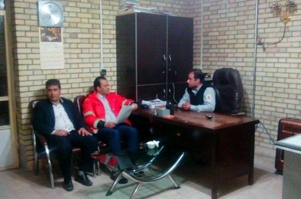 بازدید شبانه شهردار آذرشهر از آمادگی نیروهای مدیریت بحران