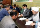 دیدار مردمی رئیس کل دادگستری آذربایجان شرقی در مسجد حجت ابن الحسن (ع) تبریز