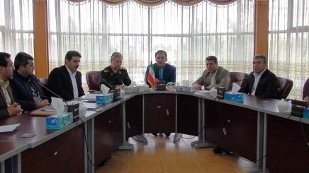 جلسه آنفلوانزای فوق حاد پرندگان شهرستان آذرشهر برگزار شد
