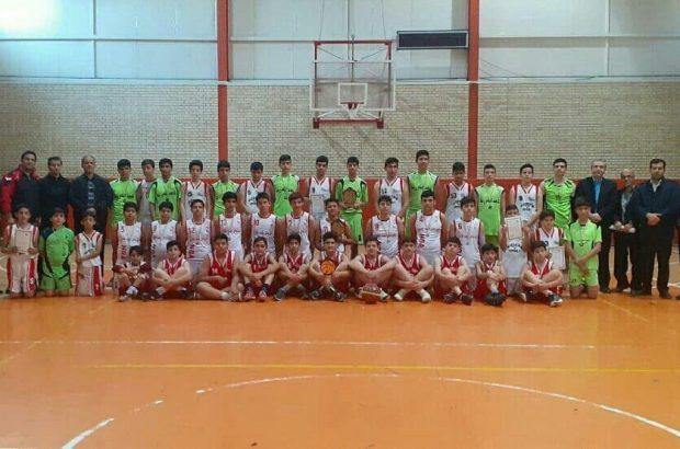 قهرمانی مدرسه طلوع در مسابقات بسکتبال بین مدارس شهرستان آذرشهر