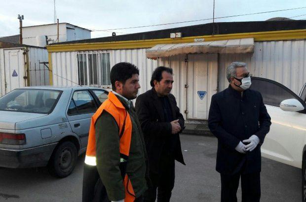 گزارش تصویری/ بازدید فرماندارشهرستان تبریز از پلیس راه های ورودی تبریز