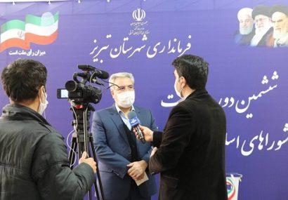 برگزاری تمام الکترونیک انتخابات شورای شهر تبریز