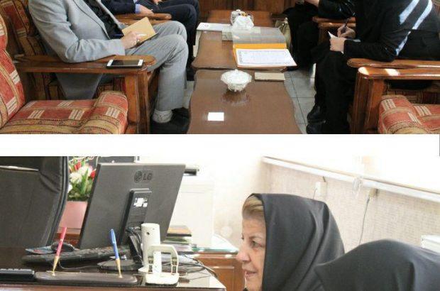 دیدار نماینده بنیاد ملی تعاون و توسعه کارآفرینی زنان ایران با مدیرکل آموزش فنی و حرفه ای استان آذربایجان شرقی