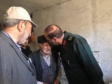 دلجویی سردار خرم از مردم زلزله زده؛ مردم نگران نباشند