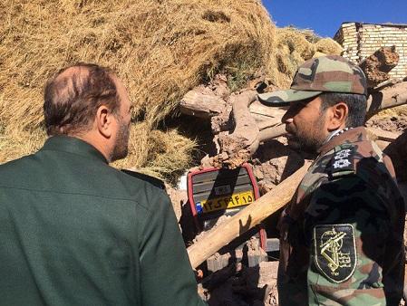 سردار خرم خواستار تسریع در روند امدادرسانی به زلزله زدگان شد