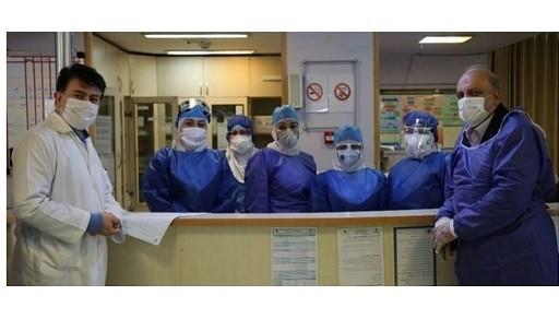 حضور دکتر علیرضا منادی در بیمارستان های مبارزه با کرونا