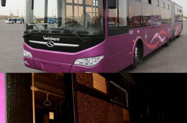 خوشبختانه آسیبی به مسافران و راننده اتوبوس در اثر موج ناشی از حادثه انفجار گاز رخ نداده است