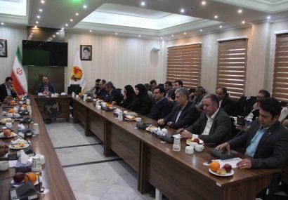 برگزاری جلسه شورای معاونین و مدیران شرکت توزیع برق تبریز