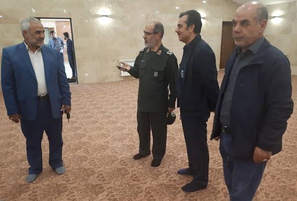 بازدید مدیر مجتمع مس آذربایجان  از اداره کل حفظ آثار و نشر ارزش های دفاع مقدس