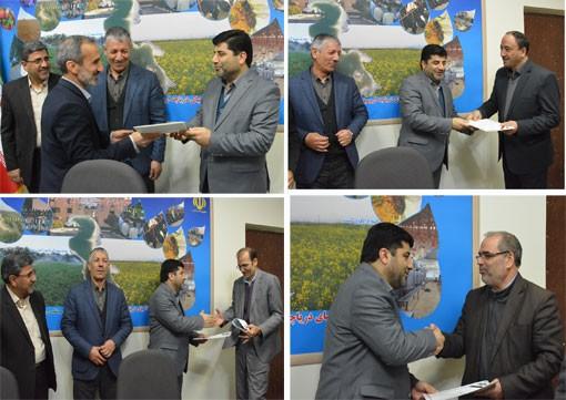 اعضای دوره جدید هیات بدوی رسیدگی به تخلفات اداری سازمان جهادکشاورزی استان آذربایجان شرقی را منصوب شد