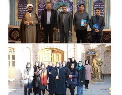 تجلیل از همکاران اهل تسنن در شرکت آب و فاضلاب آذربایجان شرقی-بازدید همکاران خانم از موزه مشروطیت