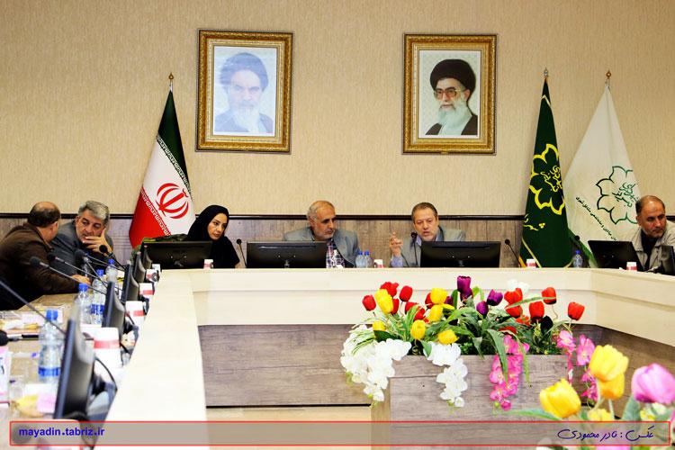 کارگاه توجیهی فرایند بند ۲۰ ماده ۵۵ قانون شهرداری ها در تبریز برگزار شد