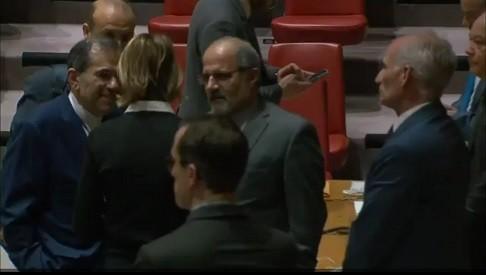 گفتگوی علنی سفیران ایران و امریکا در سازمان ملل