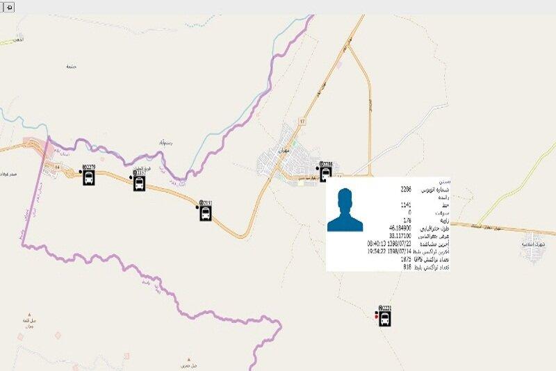 کنترل هوشمند ناوگان اعزامی شرکت واحد به مرز مهران و خسروی