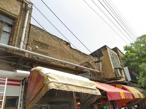 احیا ورودیهای بازار تبریز با اصلاح جدارهها