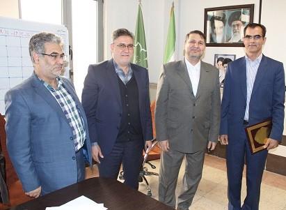 «بهرام ایران نژاد» به عنوان مدیرکل دفتر نوسازی و تحول اداری شهرداری تبریز معرفی شد