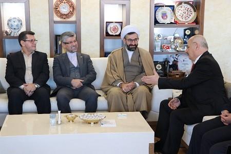 دیدارشهردار تبریز با رئیس شورای شهر ارزروم