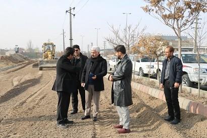 باند کند رو جنوبی جاده تهران ورودی شرق تبریز را ساماندهی می کند