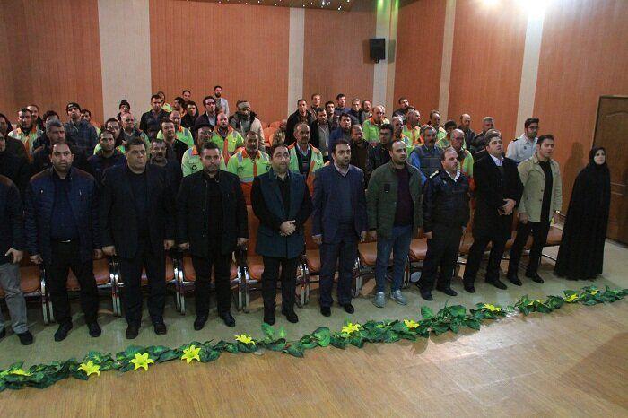 برگزاری کارگاههای آموزشی برای پاکبانان توسط سازمان مدیریت پسماندشهرداری تبریز