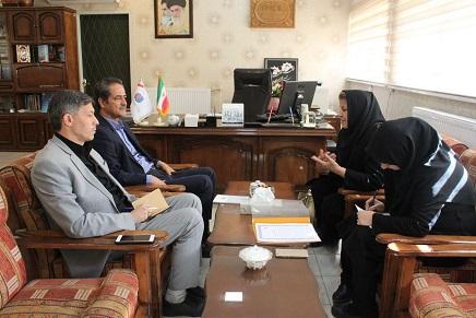 دیدار نماینده بنیاد ملی تعاون و توسعه کارآفرینی زنان ایران با مدیرکل آموزش فنی و حرفه ای آذرایجان شرقی