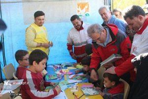 سخنگوی دولت در طرح امداد فرهنگی کانون پرورش فکری در روستای زلزلهزده «ورنکش» ترکمانچای