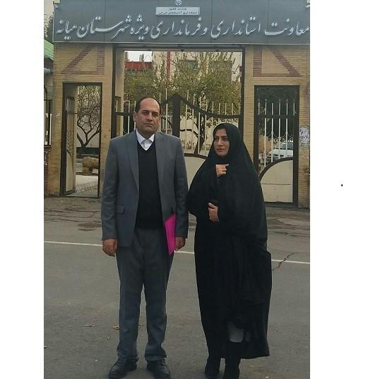 ثبت نام علی حیدری برای نمایندگی مجلس یازدهم ازشهرستان میانه